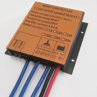 Factory price 400w MPPT low wind speed Charging Waterproof charge controller 12V 24V for 400w wind turbine generator