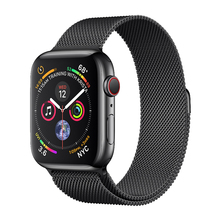 Strap For Apple Watch band 42mm Milanese Loop iWatch band 38mm 44mm 40mm Stainless steel bracelet watchband apple watch 4 3 2 1 watch case strap for apple watch 4 3 iwatch band 42mm 38mm 44mm 40mm milanese loop link bracelet stainless steel watchband