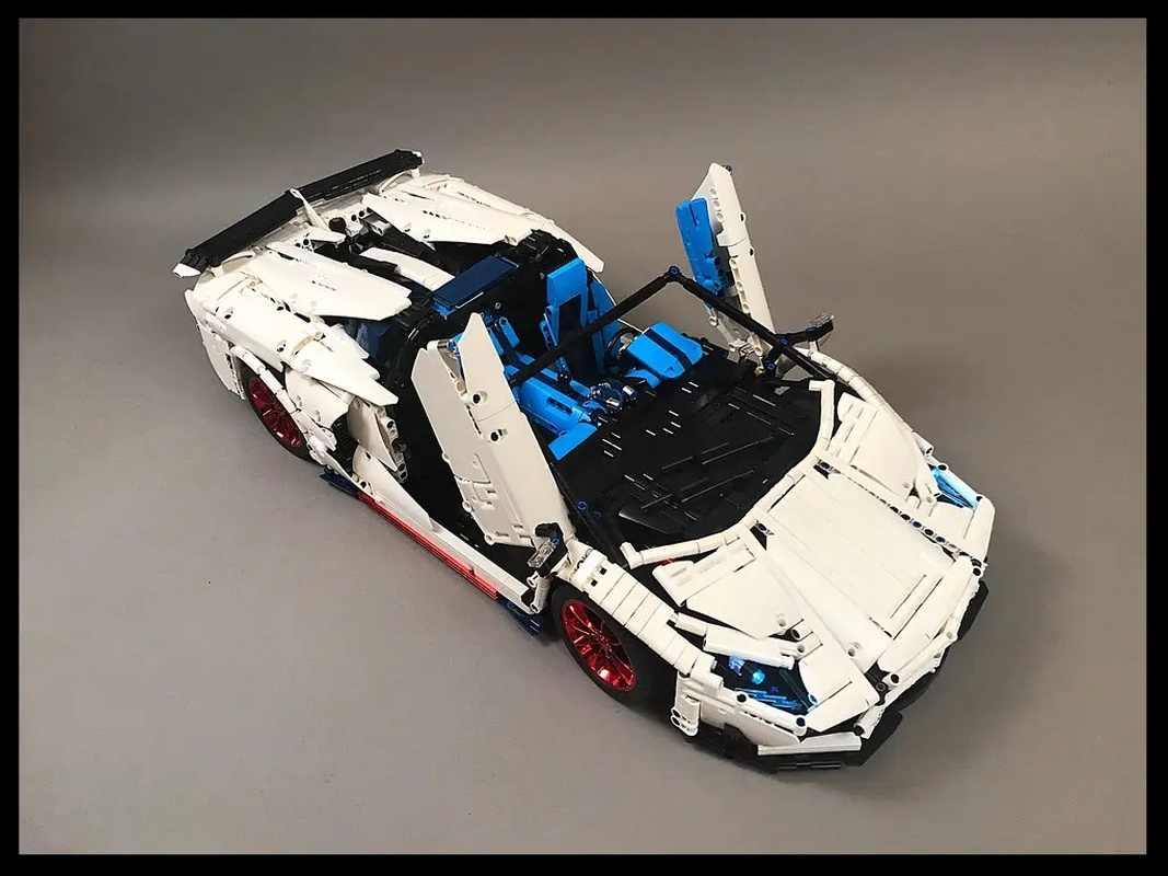 Автомобильная серия LZ2101, гоночный автомобиль, пуэртатор SVJ Roadster, супер строительные блоки, 3556 шт., детские игрушки, подарки на день рождения