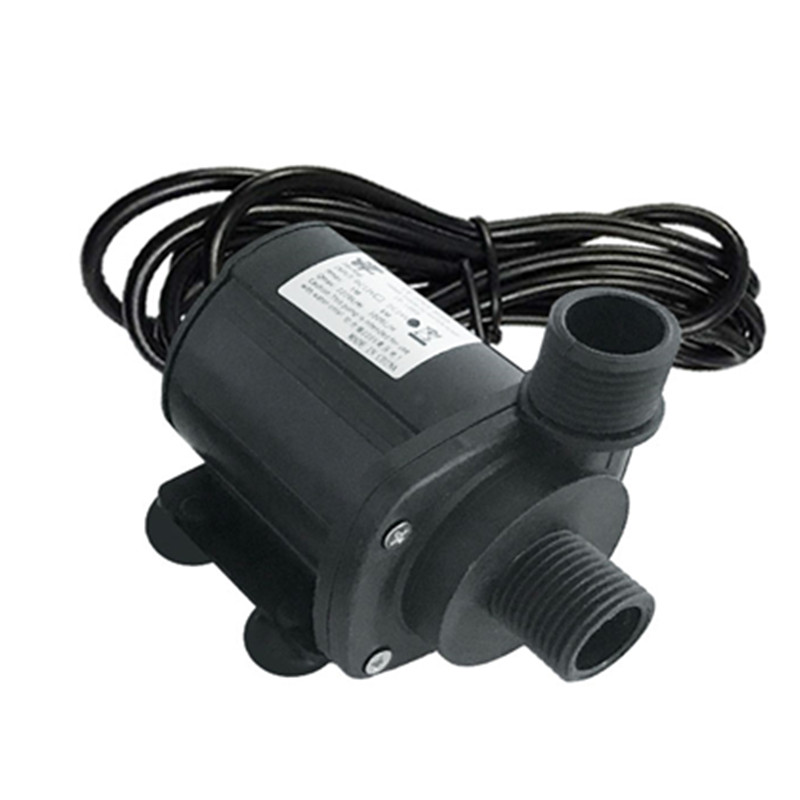 800L/H 5m DC 12V 24V Solar Brushless Motor Water Circulation Water Pump
