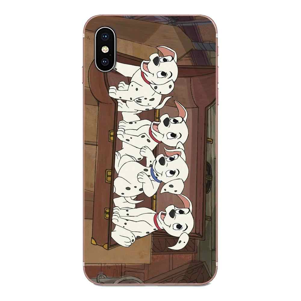For Apple iPhone 11 Pro X XS Max XR 4 4S 5 5C 5S SE 6 6S 7 8 Plus Soft TPU Cases Fundas 101 One Hundred and One Dalmatians