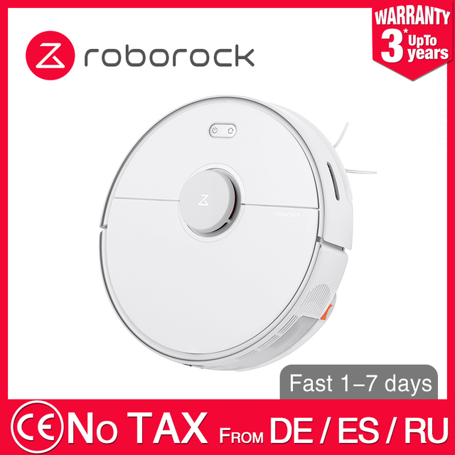 $ US $468.74 Roborock S5 Max XIAOMI MIJIA Robot Vacuum Cleaner 2 for Home Automatic Sweeping Dust Sterilize Washing Mop Smart Planned WIFI