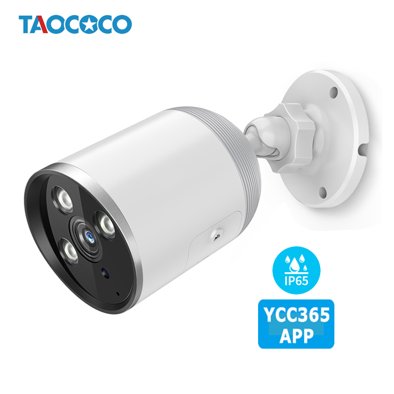 YCC365 2MP Outdoor Security Camera 1080P Waterproof Bullet IP Camera Wireless WIFI Camera Surveillance Night Vision CCTV Camera