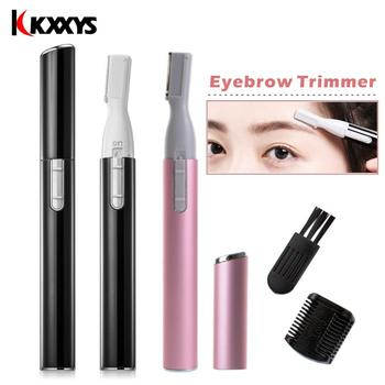 Electric  Eyebrow Trimmer/Face Eyebrow Hair Remover /Mini Eyebrow Shaver Razor/ Instant Painless Portable Epilator