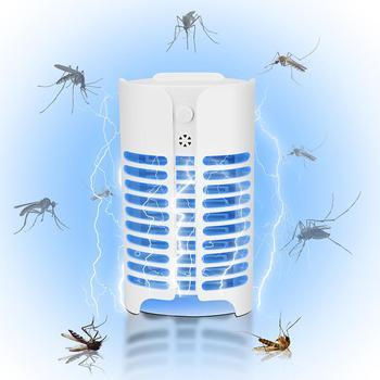 Elektryczny przeciw komarom do zabijania owadów lampa brak promieniowania do zabijania owadów lotnicze lampa owadobójcza pułapka na muchy dla domu muchy robaki środek odstraszający tanie i dobre opinie alloet CN (pochodzenie) NONE Other Mosquito Killer Lamp 110-240 v
