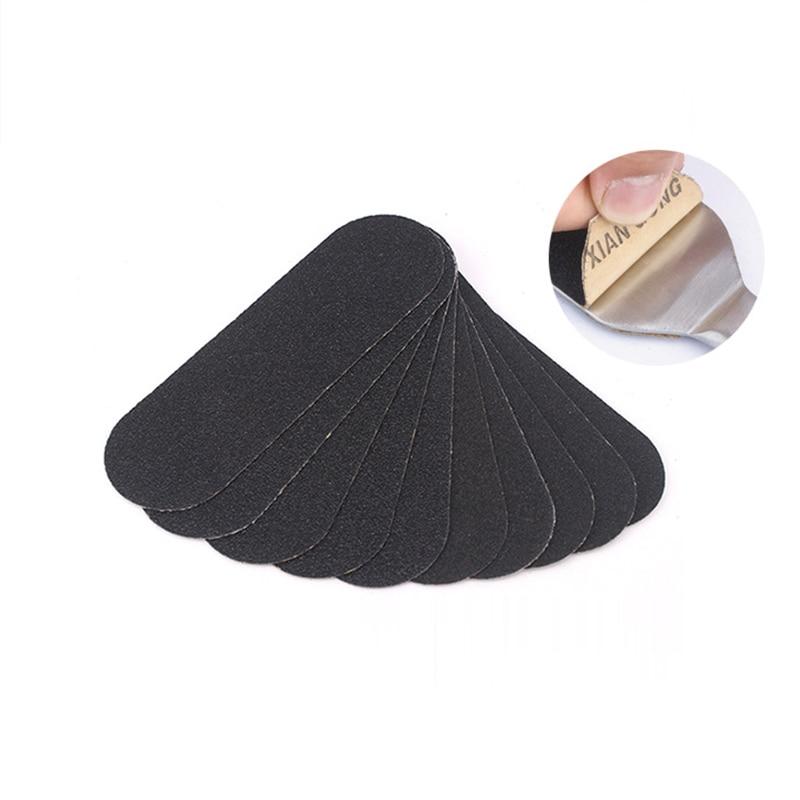 Self-adhesive Sandpaper Foot 80/180 Grit Files Sanding Cloth Pedicure Feet Care Foot Rasp Replacement Calluses Remover Dead Skin