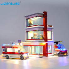 цена на Lightaling Led Light Kit For City Series City Hospital Building Blocks Compatible With 60204 ( Lighting Set Only )
