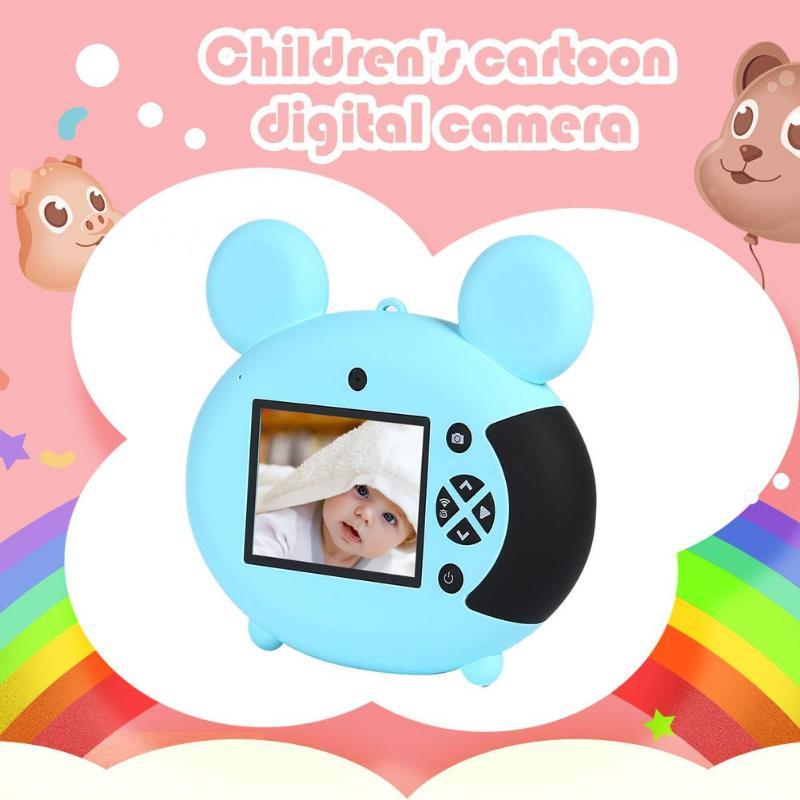 2 pouces 1080P WiFi Mini LSR caméra numérique jouet pour enfants mignon enfants cadeau Support Photo Microphone continu