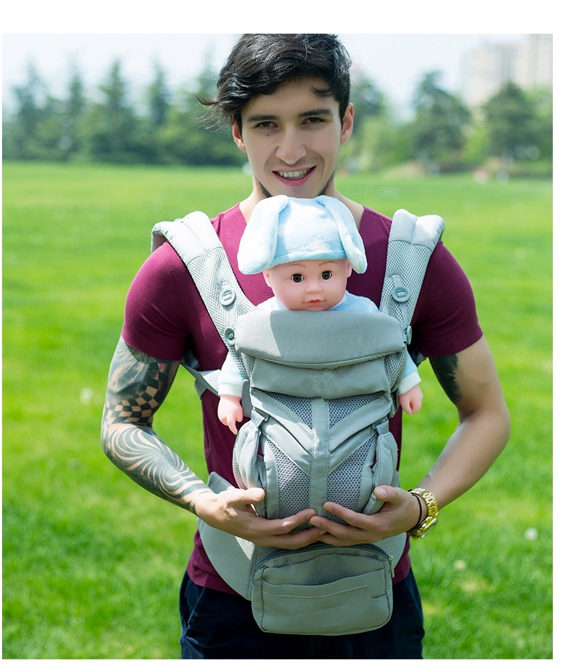 Egobaby omni 360 Baby Sling Multifunction Breathable Baby Carrier Infant Newborn Comfortable Carrier Sling Backpack Kid Carriage title=