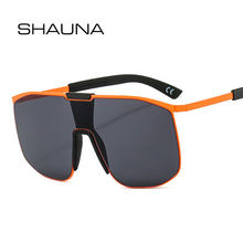 Мужские и женские очки в металлической оправе shauna большие