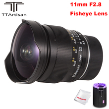TTArtisan Full Fame 11mm F2.8 Ultra Wide Fisheye Manual Lens E mount for Sony A7II A7RII A6600 for Leica L Mount Nikon Z Mount