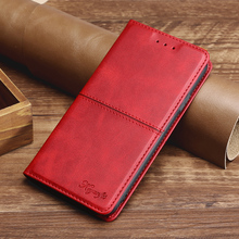 Leather Wallet Flip Case for OPPO A52 A7