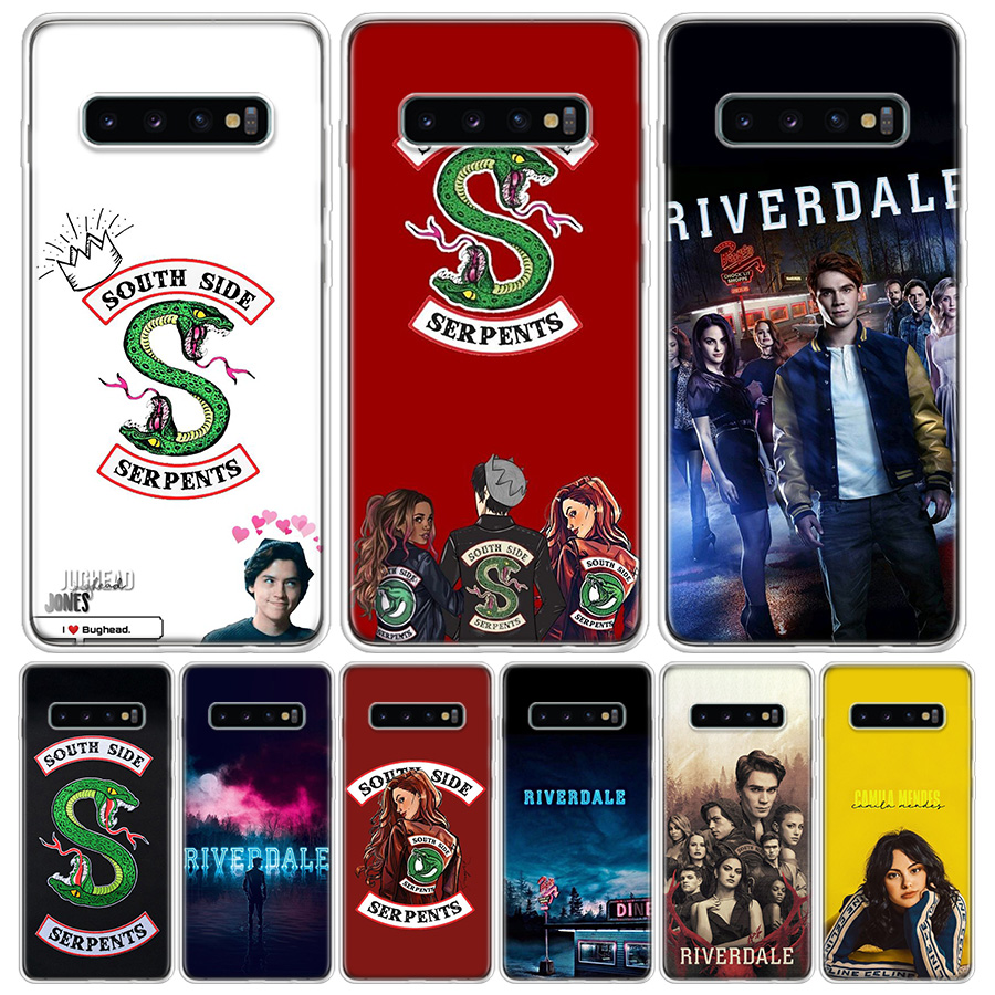 TV Riverdale Print Cover Phone Case For Samsung Galaxy A51 A71 A50 A10 A20E A30 A40 A70 M30S A01 A21 A6 A7 A8 A9 Plus + Coque