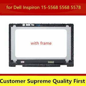 15,6-дюймовый ЖК-дисплей для Dell Inspiron 15-5568 5568 5578 P58F P58F00 B156HAB01.0 светодиодный сенсорный ЖК-экран 15,6