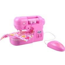 Игровой домик игрушки швейная машина маленький розовый моделирование