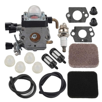 TOP FS85 FS80 gaźnika dla Stihl FS75 FS80R FS85 FS85R FS85T FS85RX podkaszarka żyłkowa Weedeater C1Q-S97 Carb W/paliwa Repower zestaw A