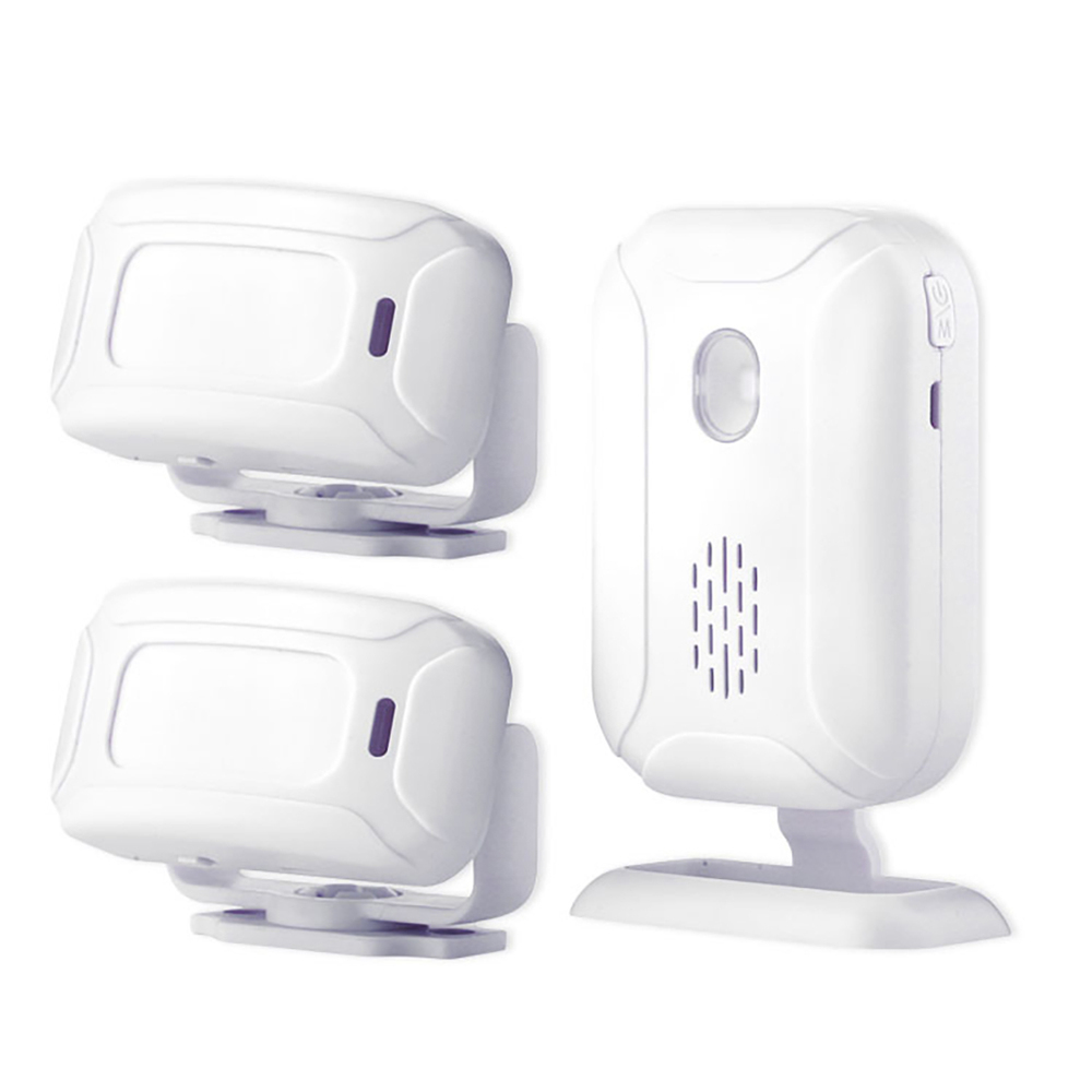 Wireless Infrared IR Motion Sensor Alarm Entry Doorbell Sensor 36 Ringtones Shop Store Home Security Welcome Chime