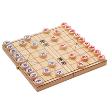 High Quality Classic China Chess Set Traditional Portable Wooden Folding Board Game For Friends Children Entertainment Toys Gift newest units 1 set connect 4 in a line board game educational toys for children sports entertainment for nin