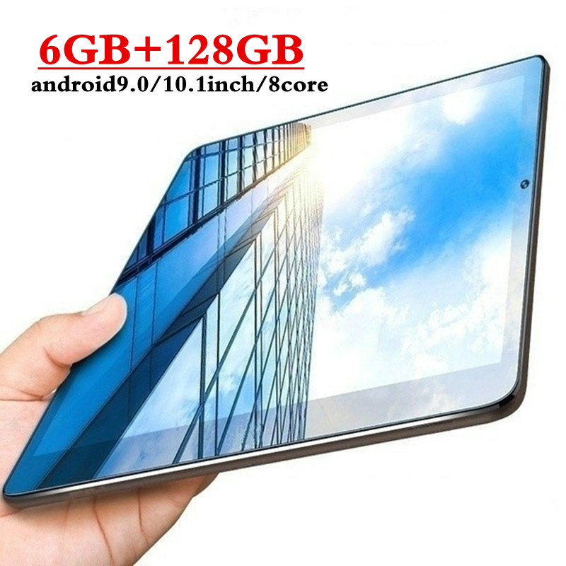 2020 10.1 Inch Tablet Android 9.0 Octa Core 6GB RAM 128GB ROM 3G 4G LTE Phone Call Tablet Pc IPS 1920x1280 Wifi Bluetooth GPS