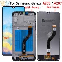 מקורי 6.5 LCD עבור סמסונג גלקסי A20S A207 LCD תצוגה עם מסך מגע Digitizer החלפת תיקון עבור Samsung A20S LCD