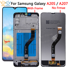الأصلي 6.5 شاشات LCD لسامسونج غالاكسي A20S A207 شاشة الكريستال السائل مع محول الأرقام بشاشة تعمل بلمس استبدال إصلاح لسامسونج A20S LCD