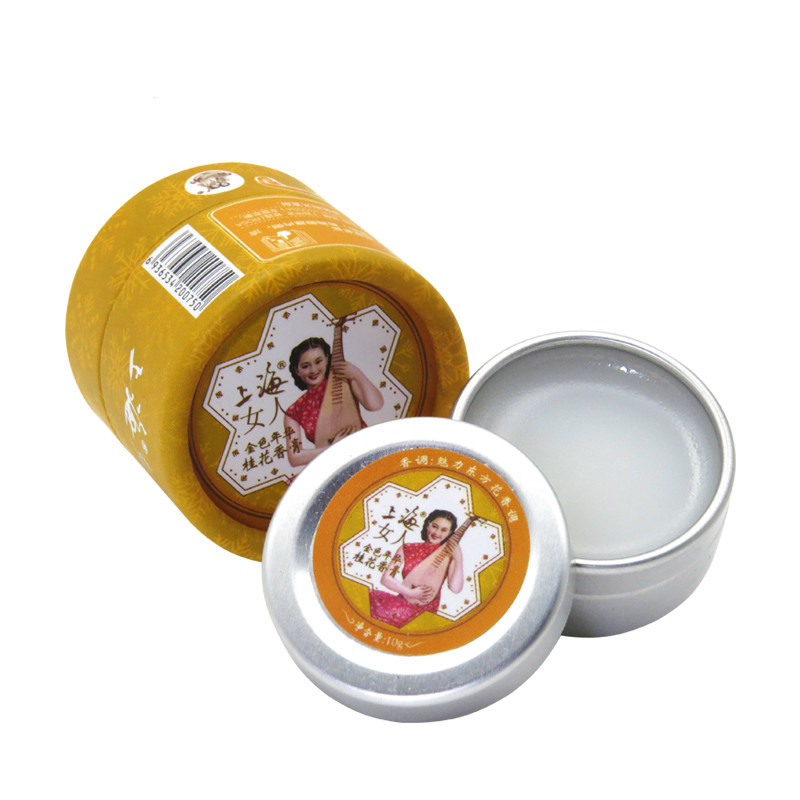 New  Women S And Fragrances For Women Osmanthus Solid  Fragrance Deodorant 100% Original Natural Skin Care