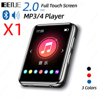 BENJIE X1 сенсорный экран Bluetooth MP3-плеер Портативный аудио музыкальный видео плеер со встроенным динамиком fm-радио рекордер электронная книга