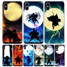 Pogromca demonów Kimetsu nie Yaiba fajna obudowa etui na telefon Iphone 11 12 Mini Pro 7 6X8 6S Plus XS MAX + XR 5S SE 10 9 Art TPU Coq