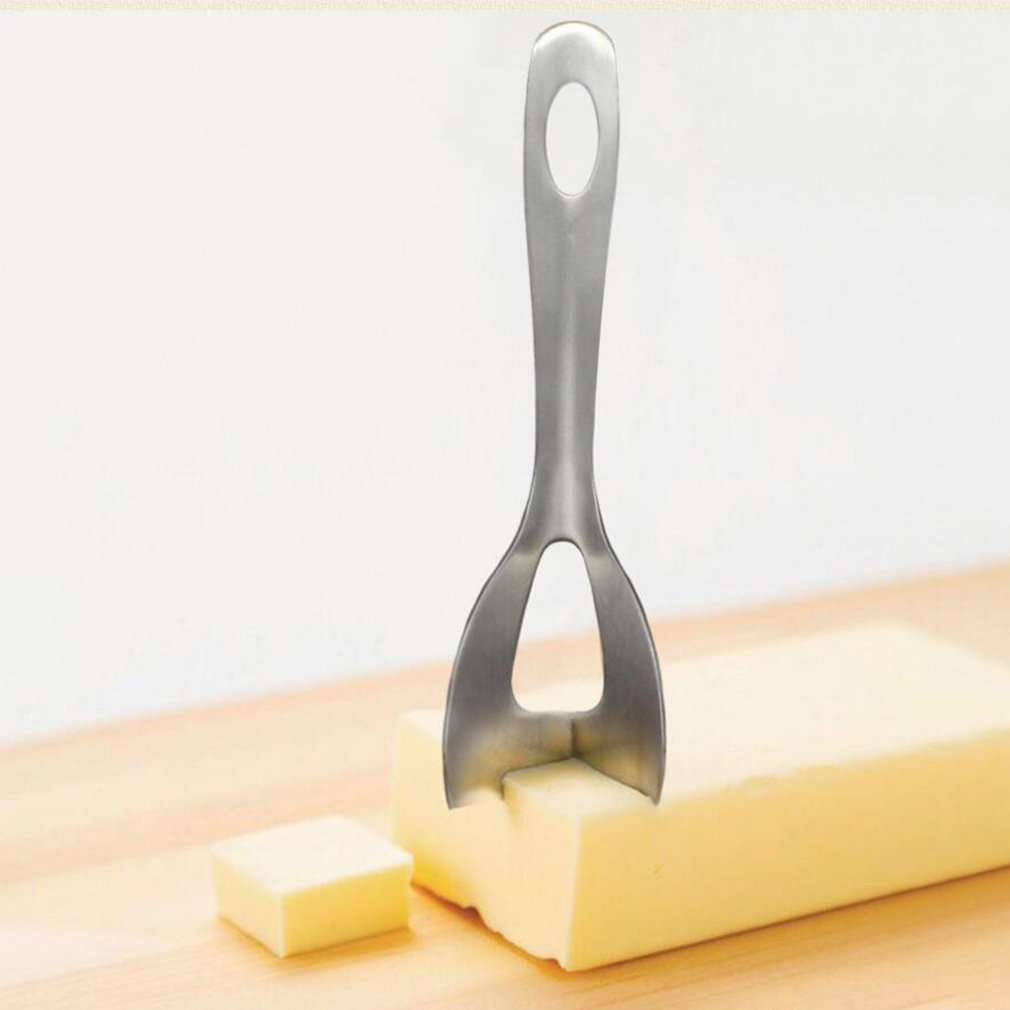 Durable Use Stainless Steel Home Kitchen Tools Stainless Steel Cheese Cutter Cheese Butter Plane Slicer Tools in Cheese Knives from Home Garden