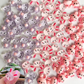 New Cute Rabbit Small Bear Nail Art Decorations Jelly Cartoon Nails Ornaments Creative Spin Lovely DIY Manicure Accessories