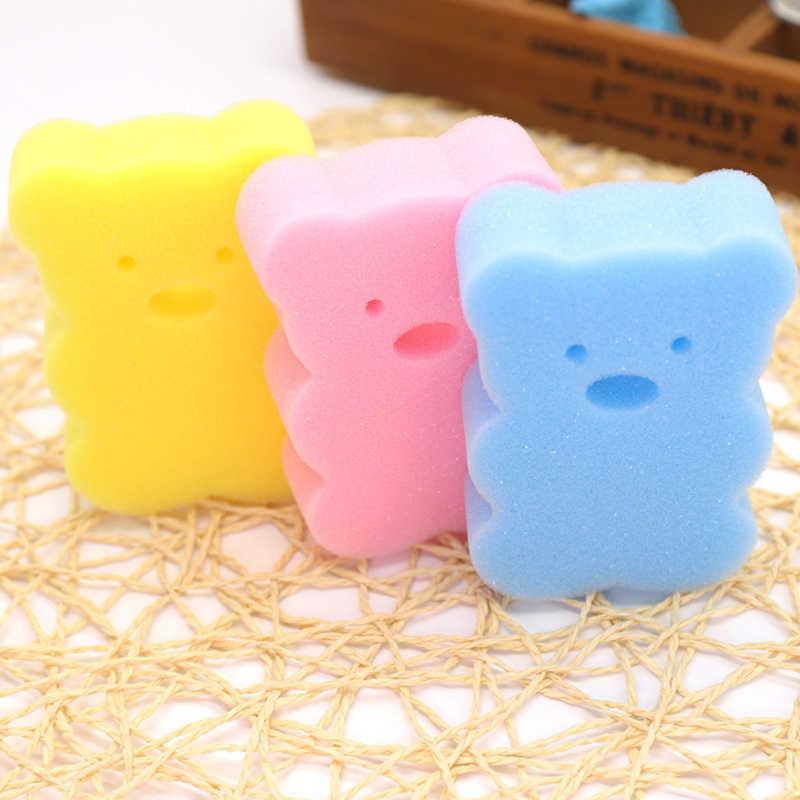 דוב תינוק מוצרי אמבטיה נוחה אמבטיה לתינוק קמטים סוכר ילדי רע כותנה קמטים מקלחת ג 'ל