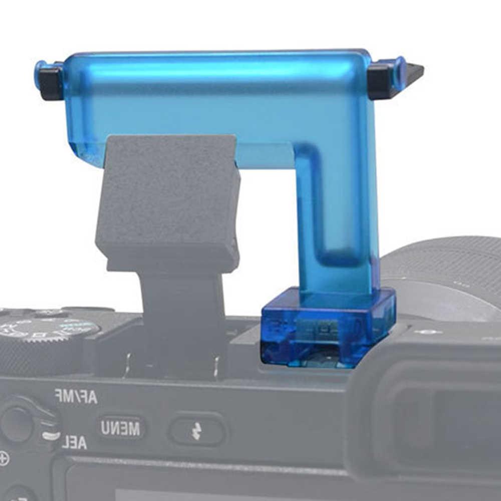 Mcoplus diffuseur Flash cartes de rebond diffuseur d'agneau dans l'appareil photo pour Sony A6500 A6300 A6000 NEX6 appareil photo