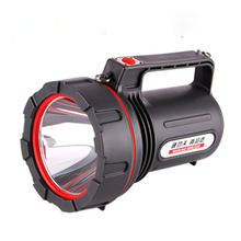 Strong light flashlight LED rechargeable searchlight waterproof explosion proof shockproof super bright long range household eme