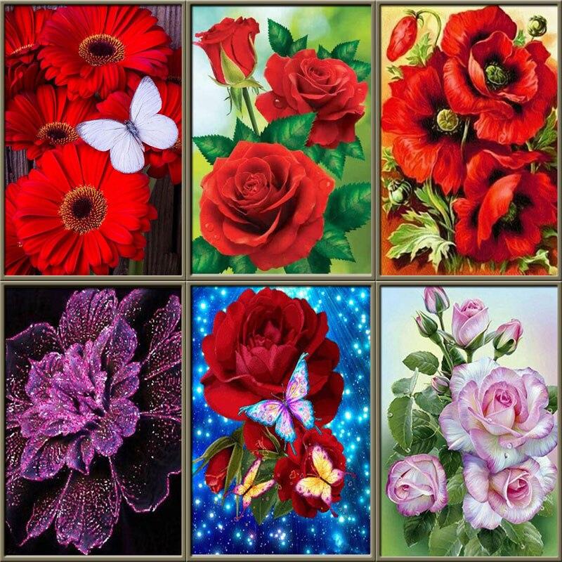 TEEMANDITIKAND / TEEMANTMAAL (MOSAIIK) komplekt 18 x 25cm / 11 erinevat lille ja kohvitassi pilti