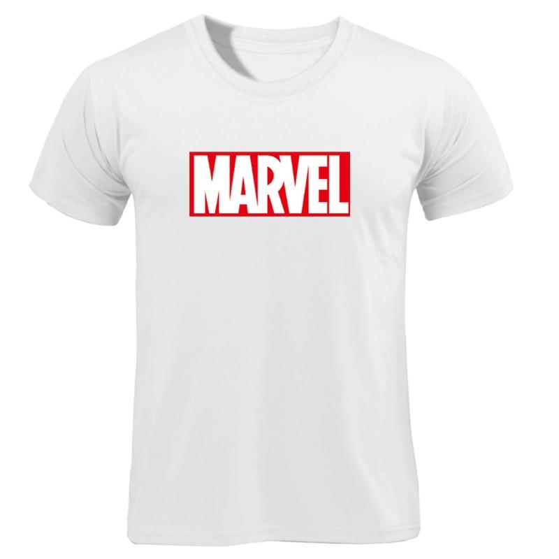 MARVEL T-Shirt 2019 New Fashion Men Cotton Short Sleeves Casual Male Tshirt Marvel T Shirts Men Women Tops Tees Boyfriend Gift 2