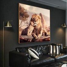 Картина на холсте Золотая фотография Современное украшение для