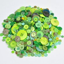 50pcs ins Hot Mix Flatback Dyed Round Buttons Resin kids Sewing Painting DIY Handmade Scrapbooking Home Decoration Handicrafts