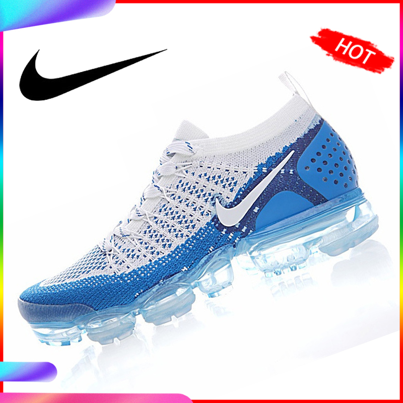 Original Authentic NIKE AIR VAPORMAX FLYKNIT 2 Mens Running Shoes Sneakers Breathable Sport Outdoor Athletic Good Quality 942842 sneakers