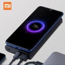 Xiao mi 10000mAh Беспроводное зарядное устройство Qi Быстрое беспроводное зарядное устройство usb type C mi power Bank PLM11ZM портативное зарядное устройство для мобильного телефона