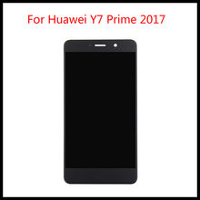 5.5 inch Full LCD DIsplay+Touch Screen Digitizer Assembly For Huawei Y7 Prime 2017 TRT-TL00 / Nova Lite+ TRT-LX1 TRT-LX3()