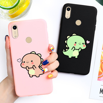 Honor 8A Case Huawei Honor 8A Pro Cover Fundas 6.09'' 3D DIY Painted Candy Color Soft TPU Phone Case For Huawei Y6 2019 Bumper honor 8a case for huawei honor 8a case silicone tpu cute back cover phone case on huawei honor 8a jat lx1 8 a honor8a case soft