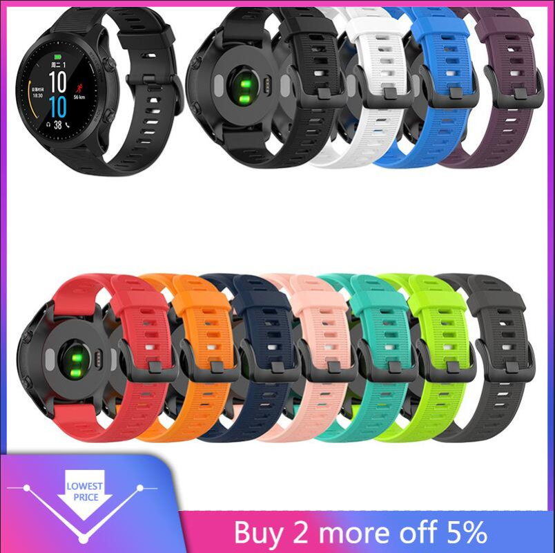 2019 Silicone Band Replacement WristStrap For Garmin Forerunner 945/935/Fenix 5/Plus Various Colors Light And Flexible Fashion