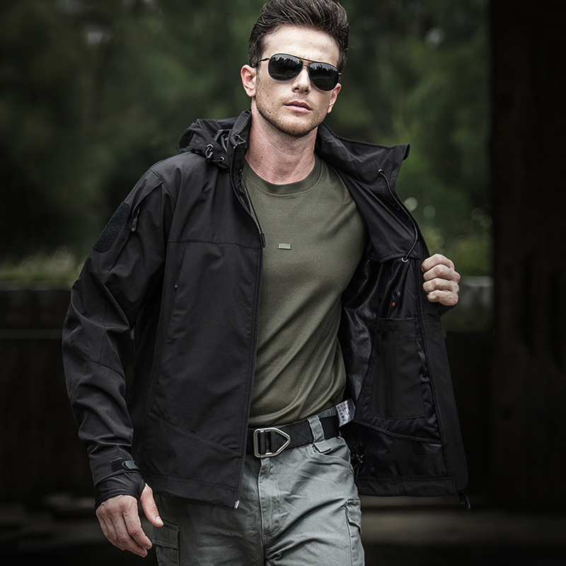 Mege Quality Spring Tactical Jacket Coat Military Army Clothing Multi pockets Windproof Light Weight Casual Outwear Dropshipping