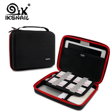 IKSNAIL Portable Digital Cable Bag USB Wire Organizer Storage Pouch Case For iPad