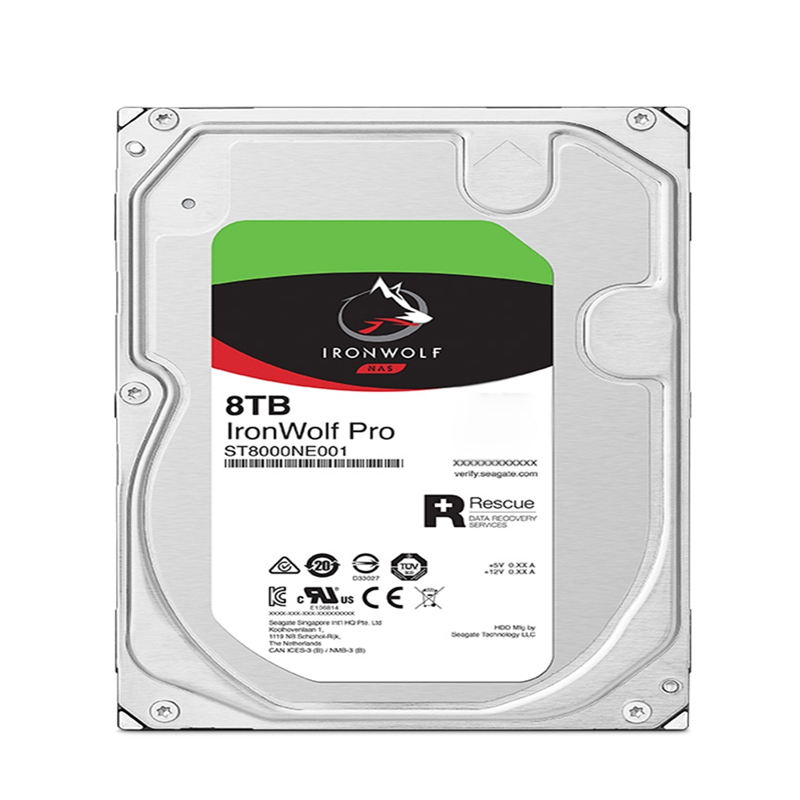 """New HDD For Seagate 8TB 3.5"""" SATA 6 Gb/s 256MB 7200RPM For Internal Hard Disk For NAS Hard Drive For ST8000NE0021 ST8000NE001 2"""