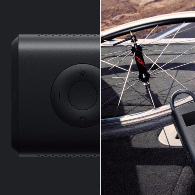 Original Xiaomi Smart Inflator For Bicycle Motorcycle Car Tire Ball Portable Mini Electric Pump Mini LED Smart Digital Pressure
