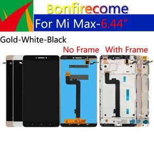 Image 2 - Оригинальный ЖК дисплей 6,44 дюйма для Xiaomi Max, дигитайзер сенсорного экрана с рамкой, сменный дисплей в сборе для Xiaomi Max 1