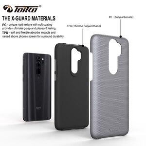 Image 2 - TOIKO X Guard 2 en 1 coque arrière antichoc pour xiaomi Redmi Note 8 Pro coque en TPU PC robuste armure protection téléphone accessoire coque