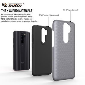 Image 2 - TOIKO X Guard 2 in 1 Shockproof Back Cover for xiaomi Redmi Note 8 Pro Case TPU PC Rugged Armor Protective Phone Accessory Shell