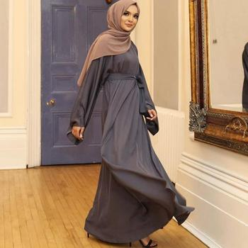 Muslim Kaftan Hijab Dress Women Abaya Dubai Caftan Marocain Turkey Islamic Clothing Robe Longue Femme